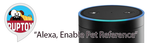 Pet Reference now available for Amazon Echo